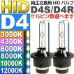 送料無料 D4C/D4S/D4R HIDバルブ 純正交換用HID D4バルブ2本入 35WHID D4 3000K/4300K/6000K/8000K/10000K/12000K HID D4バーナー sale as60554K