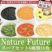 (ギフトボックス) フリーズドライ Naturre Futureスープセット6種18食セット 科学調味料無添加 コスモス食品