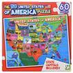 アメリカ合衆国のパズル 50州・州都を覚えよう!名産・特産物/ジグソーパズル/USA PUZZLE/AMERICA