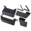 ハイエース 200系 パーツ フットレスト レックパッド 運転席/助手席 足置き 標準/ワイド DX/SGL ワゴン/バン 内装パーツ
