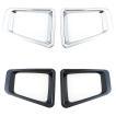 新型 ジムニー JB64W/ フォグカバー フォグランプカバー ガーニッシュ フロント フォグ ライト カバー 全2色 アクセサリー カスタム 外装パーツ