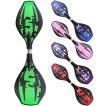 エスボード ミニモデル 子供用/携帯用ケース付き 光るタイヤ仕様 スケボー 2輪 子ども用スケートボード 迷彩 全5色 ABEC-7ベアリング
