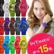 IN TIMES インタイムス 腕時計 40mm シリコン ダイバーボーイズ レディース サイズ選べる15色 シチズン製ムーブ