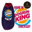 ドッグラン キング プリント名入れトラックスーツ(メール便OK)イタリアングレイハウンド イタグレ服