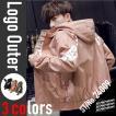 メンズ アウター ストリート ロゴ ブルゾン 秋 冬 春 ジャケット ジャンパー 韓国ファッション