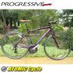 クロスバイク プログレッシブ PROGRESSIVE FRD-180 FRD-180 パープル クロスバイク