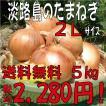 【贈答品・ギフトにどうぞ♪】淡路島玉ねぎ 2Lサイズ5kg 【送料無料】玉ねぎの本場、淡路島から産地直送♪リピーター続出!りぴたま♪