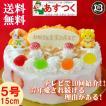 誕生日ケーキ バースデーケーキプレート DXデコ 大阪ヨーグルトケーキ 5号 15cm