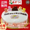 誕生日ケーキ バースデーケーキ チョコハウス飾り付 大阪ヨーグルトケーキ6号 18cm
