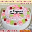 誕生日ケーキ7号 No,165/オーダーケーキ7号2段ケーキ/バースデーケーキ/生クリームケーキ