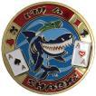 カードプロテクター「I'm A Shark」 - ポーカー用カードプロテクター