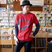ロックTシャツ / ロイヤルスネイク Tシャツ (レッド )-G- 半袖 赤 ヘビ 蛇柄 ロックTシャツ ライブ アメカジ