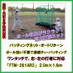 野球 ティーバッティング バッティングネット オートリターン ボール集め不要 打撃 練習器具 上達器具 FBN-2016AR2