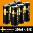 BATTERY バッテリー エナジードリンク 250ml 6本セット