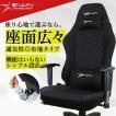 ゲーミングチェア オフィスチェア  メッシュ 布地 リクライニング E-WIN 黒 R2-BK オフィス 高品質 PCチェア ランバーサポート  腰痛対策 ロッキング 寝れる