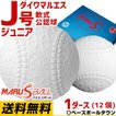 ダイワマルエス 軟式野球ボール J号 小学生向け ジュニア 検定球 1ダース売り 新公認球 J球 あすつく