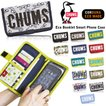 CHUMS チャムス 手帳型 エコ スマホケース スマートフォン カードケース Eco Booklet Mobile Case CH60-2426 ゆうパケット1点まで送料無料