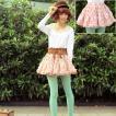 【チュールスカート特集】可愛い花柄、チュールスカート、フリルスカート、ブルマースカート、ふわふわチュールレース ly45