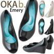 オカビー 靴 パンプス ラバーシューズ  OKA b. Emery エメリー