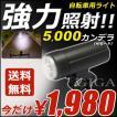 自転車 ライト LED 充電式  フロント用 BQ500 カーメ...