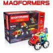 マグフォーマー 16ピース 知育玩具 ブロック マグネット おもちゃ ワオセット 車両パーツ