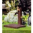 水栓柱 立水栓セット 【ウォータービュー】コボクポール+コボクパンカラ-(コゲチャ)(※蛇口別売)