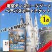 東京ディズニー ランド or シー ペア パスポート チケット 景品 目録 セット ( 特大 A3パネル付き!)