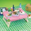 ピクニックに持っていける簡易テーブル