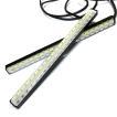デイライト led 車 防水 フロントグリル 42灯 2色発光 2本セット 汎用