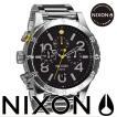 ニクソン (NIXON) 腕時計 THE 48-20 BLACK NA486000-00