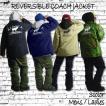 ALASCA 2016-17 リバーシブル 2WAY アラスカ コーチジャケット moose 2WAY COACHJACKET ウェア ジャケット スノボ スキー メンズ レディース