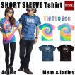 Tシャツ メンズ 半袖 15-16 BANPS ショートスリーブ タイダイ smile レディース ネコポス可