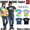 Tシャツ メンズ 半袖 15-16 BANPS ショートスリーブ タイダイ graphic レディース ネコポス可