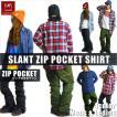 BANPS シャツ 2016-17 SLANT POCKET SHIRT スラントポケットシャツ ジップポケット  ウェア スノボ スキー メンズ レディース BANPSSNOWBOARDING