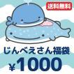 【メール便送料無料!1000円ポッキリ!】 じんべえさん 5点入り・1000円福袋(福箱)