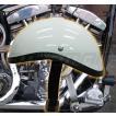 ダックテール ヘルメット 装飾用 ヘルメット ホワイト ハーレー ナックル パン ショベル ダックテール ヘルメット 装飾用 ヘルメット 今だけ!!送料無料!!