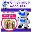 【単三電池8本おまけ付き】  二 足 歩行 ロボット ラジコン前進・後進!左右旋回のフルファンクション!!ロボエース ラジコンロボット /  子供