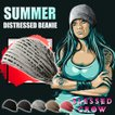 BlessedCrow Summer Distressed ビーニー ニットキャップ ニット帽 帽子  涼しい 夏用 ブランド ダメージ ロック ファッション