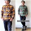 SUGARCANE シュガーケーン 長袖ツイルチェックシャツ ネルシャツ SC28233 チェックネルシャツ