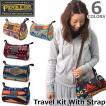 ペンドルトン PENDLETON GF418 ネイティブ柄 斜めがけ バック Travel Kit With Strap ドップバッグ ウール ポシェ