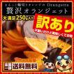 【季節限定】チョコレート 輪切りオレンジの 訳あり 贅沢 オランジェット 250g  スイートチョコ&ミルクチョコ詰め込み
