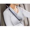 ウレタン 使用 体圧分散 シートベルトパッド 1本 フライングスヌーピー Flying Snoopy グレー