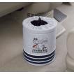 ゴミ箱 小物入れ 活躍 マルチボックス フライング スヌーピー Flying Snoopy サイズ:約Φ15×21cm グレー