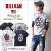 Tシャツ BILLVANアメリカンスタンダード ビルバンマスク プリントTシャツ 28138 メンズ アメカジ