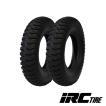 荷車用タイヤ/井上ゴム工業 IRC IR 400-8 4PR (4.00-8 4PR)チューブタイプ タイヤ2本セット 送料無料