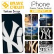 iPhoneXR iPhone XS Max X 8 7 6s 6 plus SE 5s 5 スマホ ケース 手帳型 ブランド  野球 ニューヨーク ヤンキース NY MLB メジャー イチロー