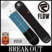15-16 FLOW / フロー RUSH ラッシュ オールラウンド メンズ  スノーボード 板 2016 型落ち
