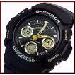 CASIO G-SHOCK カシオ Gショック デジアナモデル メンズ腕時計 ブラック/ゴールド 海外モデル AW-591GBX-1A9
