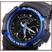 CASIO / G-SHOCK カシオ / Gショック デジアナモデル メンズ腕時計 ブルー AW-591-2A 海外モデル