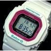 CASIO / Baby-G カシオ / ベビーG ソーラー電波腕時計 レディース ホワイト/ピンク 国内正規品 BGD-5000-7CJF